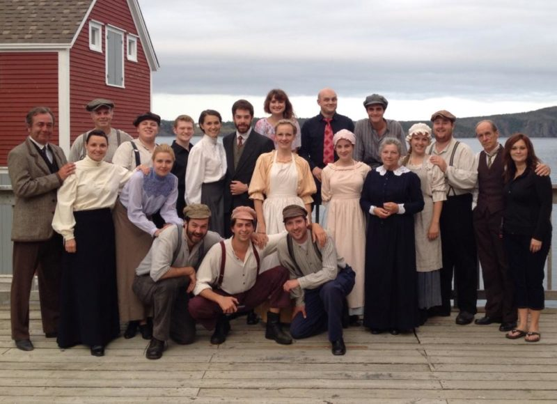 Cast of The Naming of Port Rexton, 2014