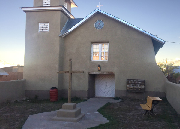 Historic church in Truchas
